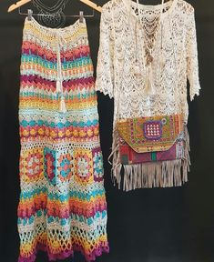 Kimono Crochet, Hippie Crochet, Crochet Skirts, Crochet Cardigan, Crochet Clothes, Knit Crochet, Finger Crochet, Crotchet Patterns, Summer Knitting