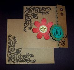 The Price of Paper: August Stamp of the Month Blog Hop - Baroque Borders