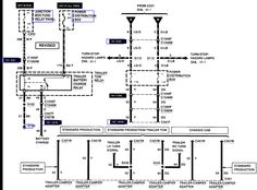 7.3 powerstroke wiring diagram Google Search Ford