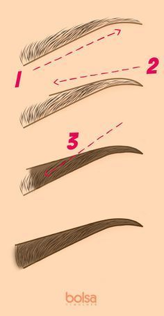 How to pluck your eyebrows in 4 easy steps Makeup Inspo, Makeup Inspiration, Makeup Tips, Beauty Make Up, Diy Beauty, Beauty Hacks, How To Become Beautiful, Eyebrow Makeup, Hair Makeup