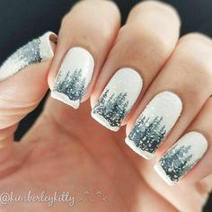 21 Cute Winter Nägel-Designs zu Inspirieren, Ihre Winter-Stimmung
