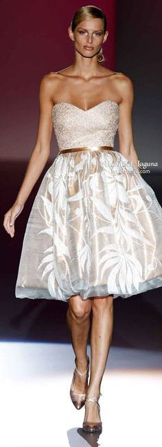 Hannibal Laguna Spring 2014 - Fashion Jot- Latest Trends of Fashion Like the dress, i would deff wear