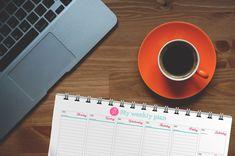 Weekly Planner printable 2019 2020 A4 Weekly Agenda academic planner digital watercolor calendar mom planner