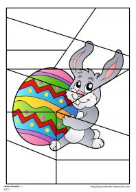 Librairie-Interactive - Puzzles sur le thème de Pâques Easter Puzzles, Puzzles For Kids, Spring Activities, Activities For Kids, Theme Carnaval, Paper Box Template, English Worksheets For Kids, Easter Crafts For Kids, School Holidays