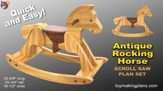 Building a classic rocking horse plans No need for kits We have been building Rocking Horses since 1988 Use free rocking horse plans to build a toy your child will cherish Rocking Horse Plans, Antique Rocking Horse, Rocking Horses, The Plan, How To Plan, Intarsia Wood Patterns, Wood Carving Patterns, Woodworking Projects That Sell, Woodworking Plans