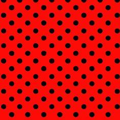 Tricoline Bolinhas Grandes P1554-011 Vermelho c/ Preto - Tecidos na Internet | Tecidos para patchwork e Outros