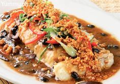 Steamed Fish Fillet in Tausi Sauce