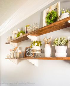 How to style open shelves { in 5 easy steps } . Perfect tips and inspiration to…