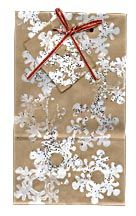 DIY Christmas gift bag. Found on my mom's board for her shop North Pole West!  Follow North Pole West and visit my my mom's online store for cute western Christmas :) :) Share with your friends!!