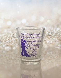 Shot Glass Wedding Favors Glass Shot Glasses And they lived Happily Ever After Hearts Custom Personalized Wedding Favor by on Etsy - July 13 2019 at Homemade Wedding Favors, Creative Wedding Favors, Inexpensive Wedding Favors, Wedding Shower Favors, Beach Wedding Favors, Personalized Wedding Favors, Bridal Shower Rustic, Wedding Ceremony, Wedding Dress