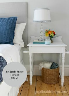 Benjamin Moore Horizon OC-53 - Paint Colours for Home Staging by Jo Galbraith