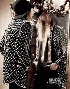 ma boheme: dree hemingway by dan martensen for elle france november 2012 Looks Chic, Looks Style, My Style, High Fashion, Fashion Beauty, Womens Fashion, Dree Hemingway, Vogue, Mode Boho