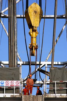 Photo about Working land drilling rig in Shengli Oil,CHN. Image of operation, forklift, land - 4756056 Oil Rig Jobs, Waste To Energy, Oilfield Life, Drilling Rig, Shops, Oil Industry, Life Is Hard, Oil And Gas