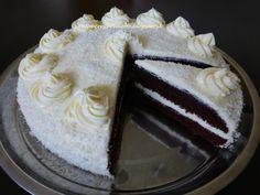 Výborná jemná a svieža torta, len tak ku kávičke alebo na akúkoľvek príležitosť.          cesto:     4 vajcia    200 g kryštá...