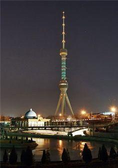 Tashken TV Tower in Uzbekistan