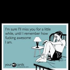 For all my exes out there lol!