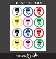 Power Rangers Toppers Power Rangers Stickers Power Ranger Power Rangers Dino, Gateau Power Rangers, Power Rangers Ninja Steel, Pawer Rangers, Mighty Morphin Power Rangers, Green Power Ranger, Power Ranger Party, Power Ranger Birthday, Ninja Birthday Parties