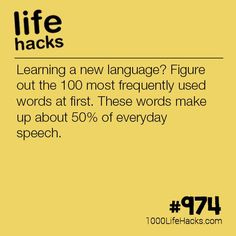 Improve your life one hack at a time. 1000 Life Hacks, DIYs, tips, tricks and More. Start living life to the fullest! Simple Life Hacks, Useful Life Hacks, Diy Hacks, 1000 Lifehacks, Learning Languages Tips, Life Hacks For School, School Ideas, Everyday Hacks, Learn A New Language