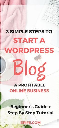 Blogging For Beginners: How to start a new blog to make money blogging in 10 minutes, using self-hosted WordPress. Literally, it's a 3 step process to start a blog on Siteground! And, you will freaking love your new blog.