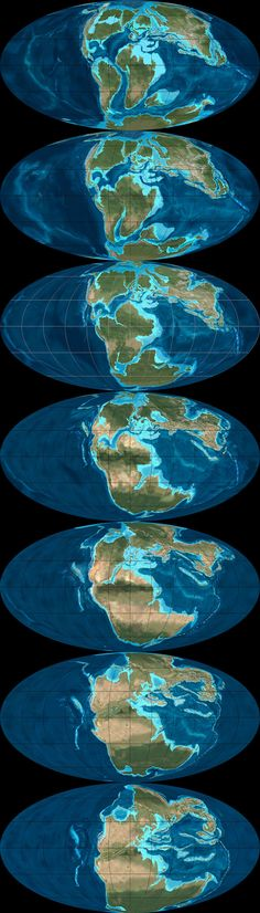 What Did the Continents Look Like Millions of Years Ago? - Atlantic Mobile