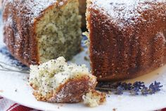 I have never had a Poppy Seed Cake that wasn't delicious. This Lime and Lavender Cake sounds incredible!
