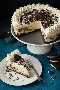 Cookies 'N Cream Cheesecake - Cooking Classy