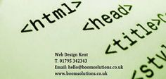WEB DESIGN KENT UK Your website is the window to your business and it's important that it showcases your business in the very best light. Everybody's website needs to do something different and that's why we handcraft a solution specifically for your business rather than giving you the same 'template' as everyone else. Boom Solutions is an UK based agency, which is specialises in website design, development and SEO Search Engine Optimisation. for more info call @ 01795 342343.