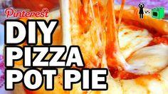 DIY Pizza Pot Pie, Corinne VS Cooking #13