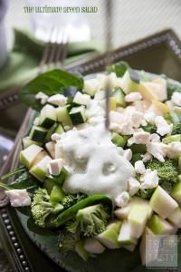 The Ultimate Green Salad on MyRecipeMagic.com  Perfect to add to you St Patrick's Day meal.
