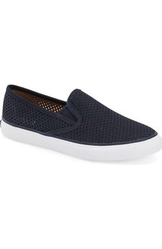 ec4793cda3 Sperry 'Seaside' Perforated Slip-On Sneaker (Women) available at #Nordstrom