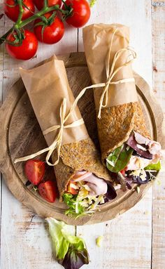 Flaxseed Keto Wraps are a nutritious and delicious low carb alternative to bread. They are wheat free, gluten free and easily pliable. Perfect for lunch boxes!
