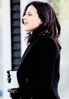 Lana Parrilla on set April 1st 2015