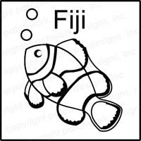 Fiji Rubber Stamp