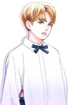 Imagem embutida i love bts, jungkook oppa, jungkook fanart, bts bangtan boy, Jungkook Fanart, Bts Jungkook, Namjoon, Fanart Bts, Taehyung, Jung Kook, Jikook, Bts Anime, Anime Guys
