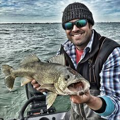 (via targetwalleye.com): @jayepping just got back from Lake Erie -- after checking out the pictures I can't figure out why he left!  #TargetWalleye #walleye #Fishing
