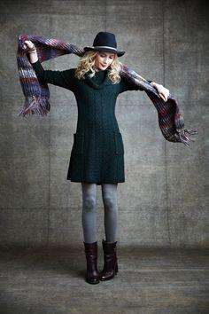 Dori Cable Sweater Dress - anthropologie.eu