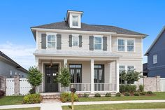 The Fairfield is a stunning two-story 4 bedroom home with an office and spacious loft upstairs.