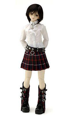 Jun Tachibana Jun, Doll Clothes, Goth, Dolls, How To Make, Style, Fashion, Gothic, Baby Dolls