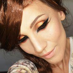Makeup Geek Eyeshadows in Cocoa Bear, Corrupt, Lemon Drop, Morocco, and Pixie Dust + Makeup Geek Foiled Eyeshadow in Jester.
