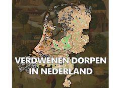 Woonden jouw voorouders in verdwenen dorpen in Nederland? Movie Gifs, Historical Maps, Languages, Genealogy, Vintage Posters, Netherlands, Holland, Documentaries, Writing