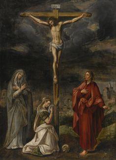 The Crucifixion, Flemish School, Mid-16th Century