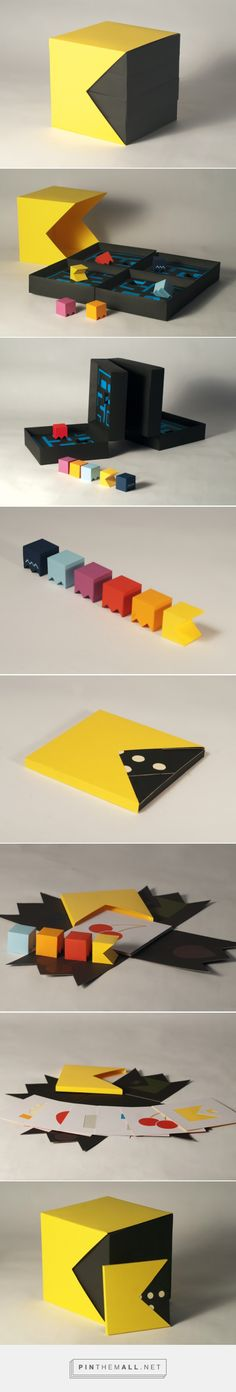 Pacman Packaging (Student Project) by Craig Sutton