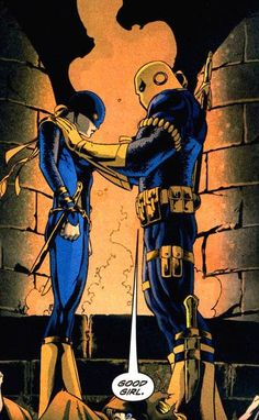 Deathstroke and Ravager (Rose Wilson)