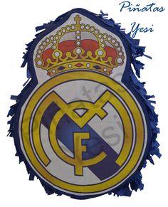Piñata escudo del Real Madrid