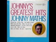 Johnny Mathis: It's Not For Me To Say (Allen / Stillman, 1957) - Columbia Records LP - YouTube