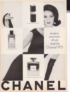 Chanel No. 5 - 1962