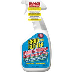 Krud Kutter 32 Oz Mold and Mildew Stain Remover Mold And Mildew Remover, Mold Removal, Krud Kutter, Mildew Stains, Get Rid Of Mold, Bathroom Cleaning Hacks, Cleaning Tips, Mold In Bathroom, Urine Smells