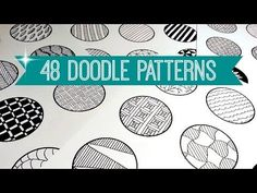 48 EASY & AWESOME DOODLE PATTERNS   SPEED-UP ART   SOLLOMIO - YouTube