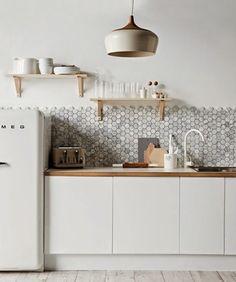 Kitchen Greens und ein kleines Küchen-Makeover | Kitchens and ... | {Küchenleerblock günstig 44}