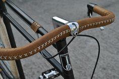 Custom bike made by Bicicle TeMe / Romania / Timisoara...beautiful hand stitched